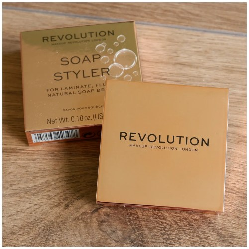 Make Up Revolution Soap Styler Soap Brows brow gel review swatch makeup look application natural brows