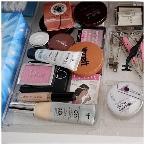 shop my stash february 2021 everyday makeup drawer