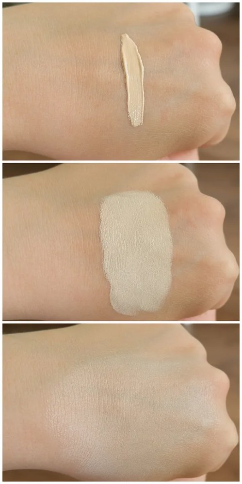 zoeva authentik skin concealer 010 absolute review swatch fair skin dry skin application makeup look