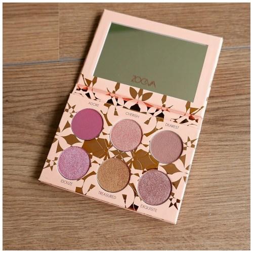 zoeva precious eyeshadow palette review swatch makeup look application