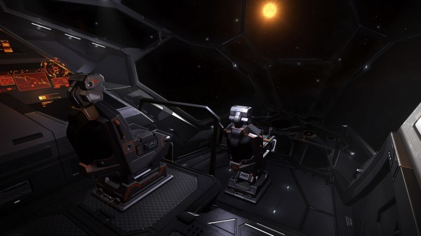Python Elite Dangerous Cockpit - Exploring Mars