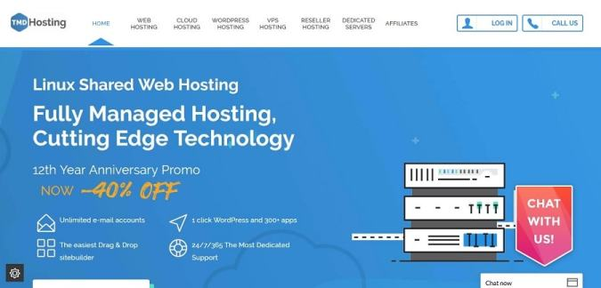TMDHosting best cloud hosting for WordPress