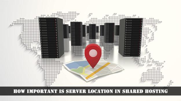 Server Location in Shared Hosting