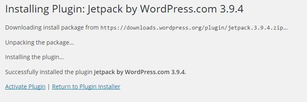 Installing or Updating Plugins in WordPress3