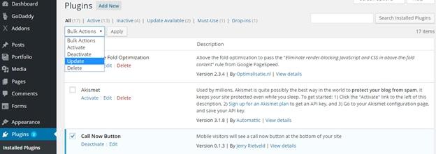 Installing or Updating Plugins in WordPress6