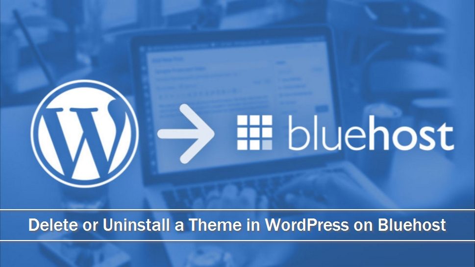 Delete or Uninstall a Theme in WordPress on Bluehost