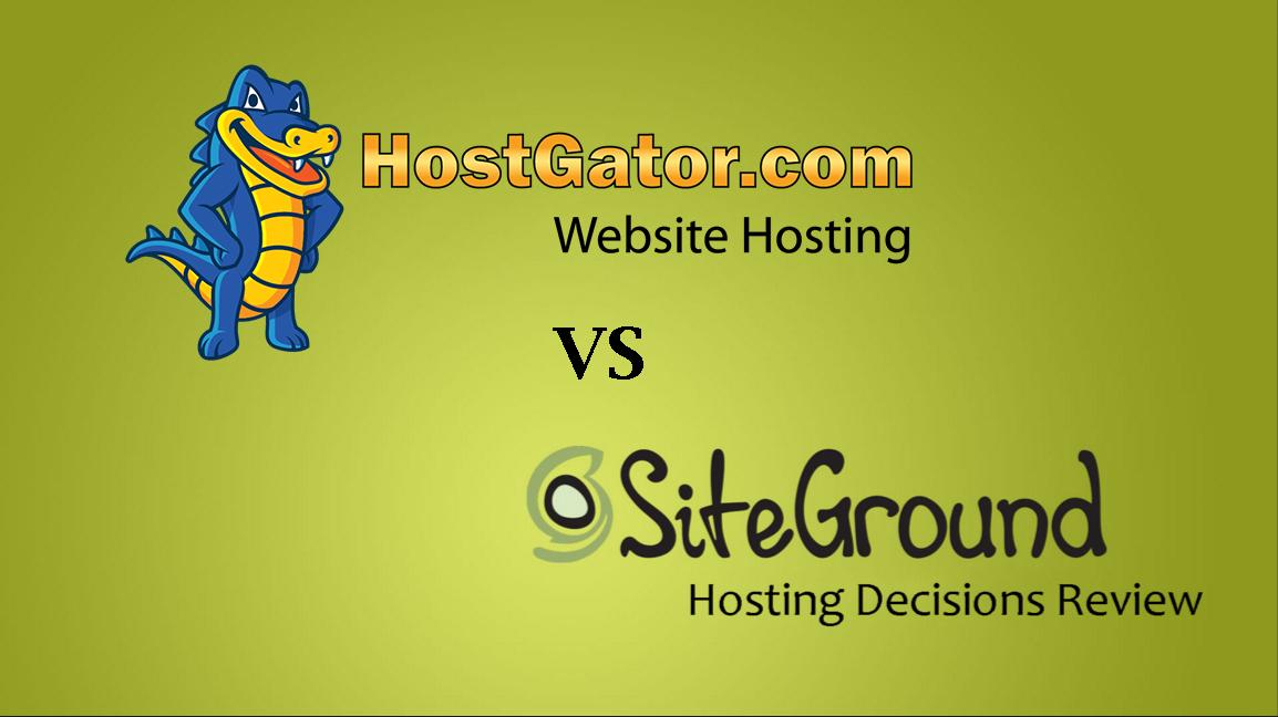 SiteGround vs HostGator Review