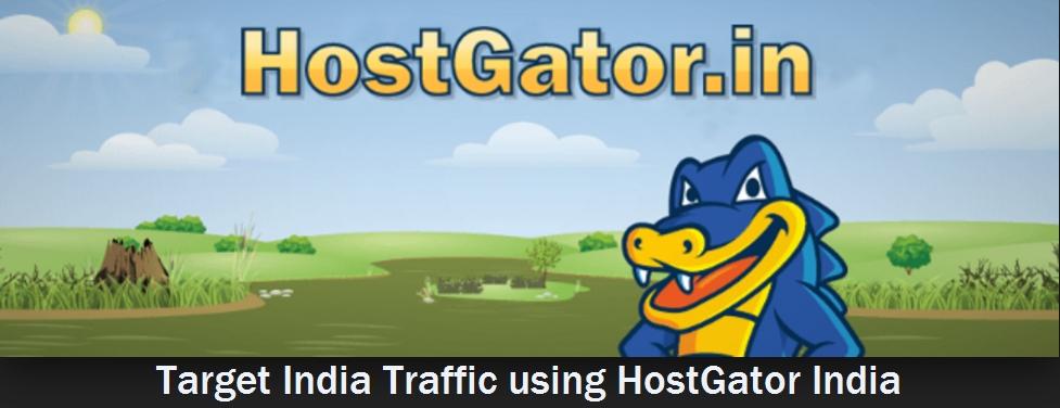 Target India Traffic Using HostGator India