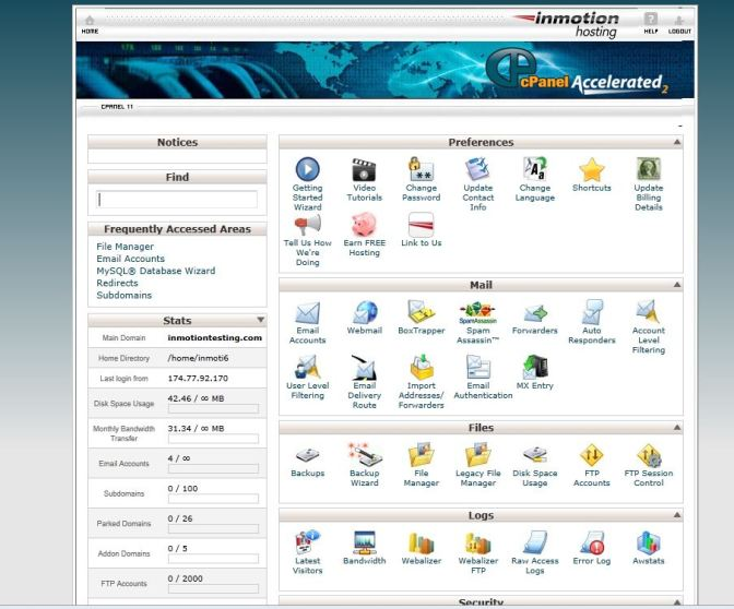 Hosting Services - cPanel