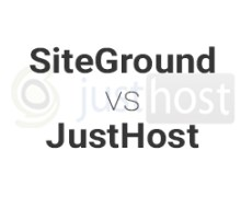 SiteGround vs JustHost