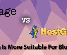 iPage versus HostGator – Which Is More Suitable for Blogging?