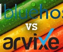 BlueHost VS Arvixe