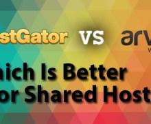 HostGator Vs Arvixe – Which is better for Shared Hosting