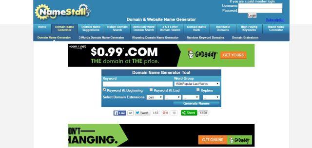 15 Best Domain Name Generators Hostingfacts Com. 4 Letter Net Domains Lowendtalk