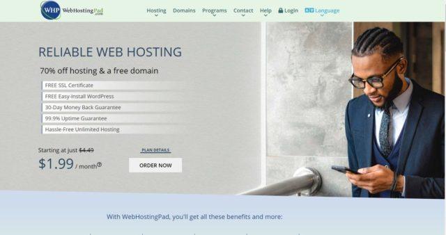 WebHostingPad hosting review