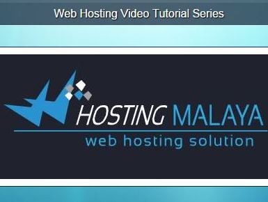 video tutorial web hosting percuma