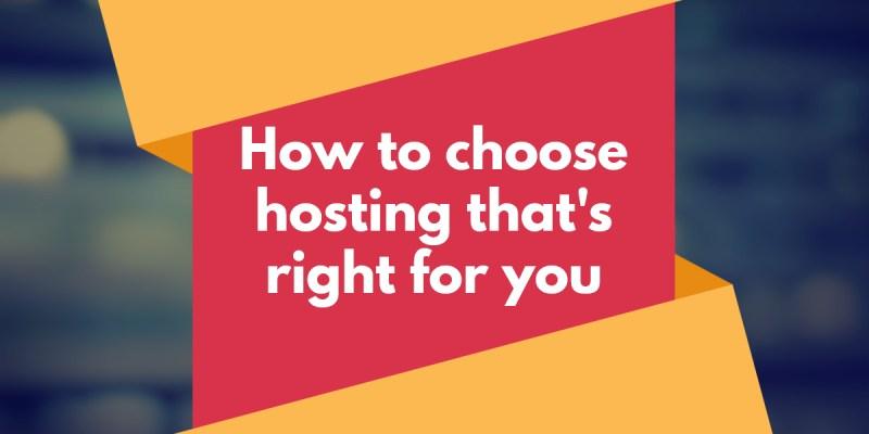 Tips Pemilihan Spesifikasi Hosting