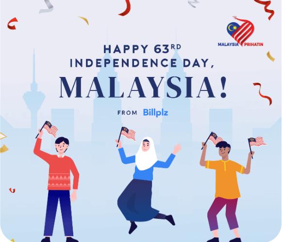 Billplz Memberikan RM10 Percuma Sempena Kemerdekaan