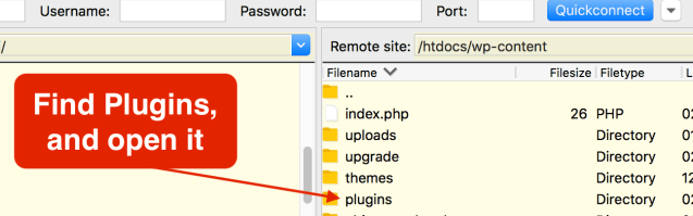 How to update the WordPress plugins manually