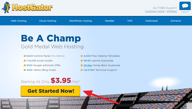 Get Started With HostGator