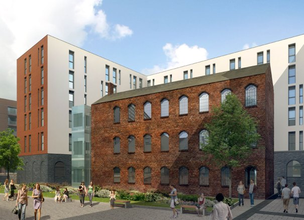 Newhall Square artist impression