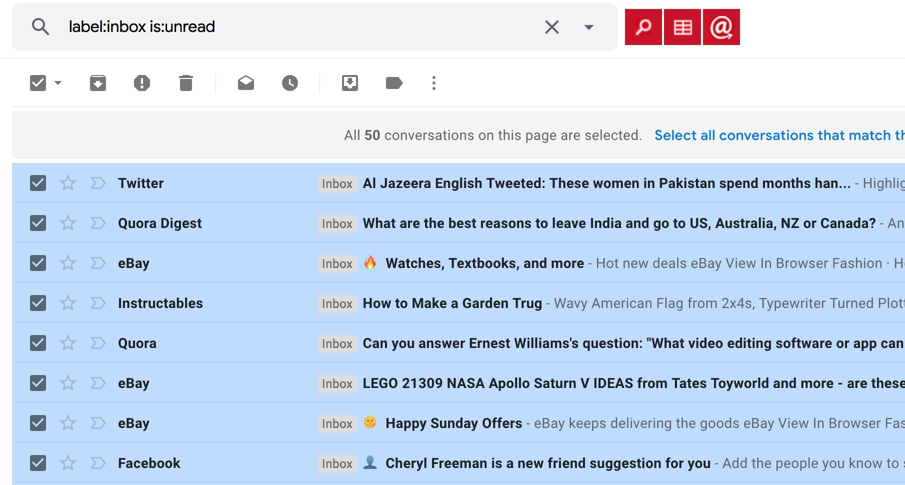 """How To Mark All Emails As """"Read"""" In Gmail (Step-By-Step)   HS"""