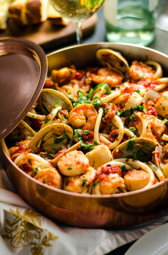 Seafood Fra Diavolo Valentine's Day Recipes