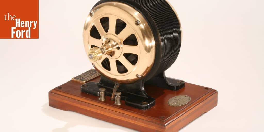 Induction Electric Motor 1888