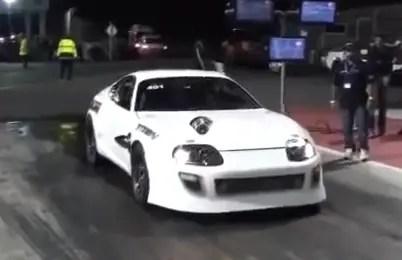 Supra 2000HP drag racing