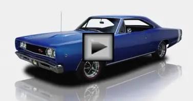 1968 Dodge Coronet muscle car