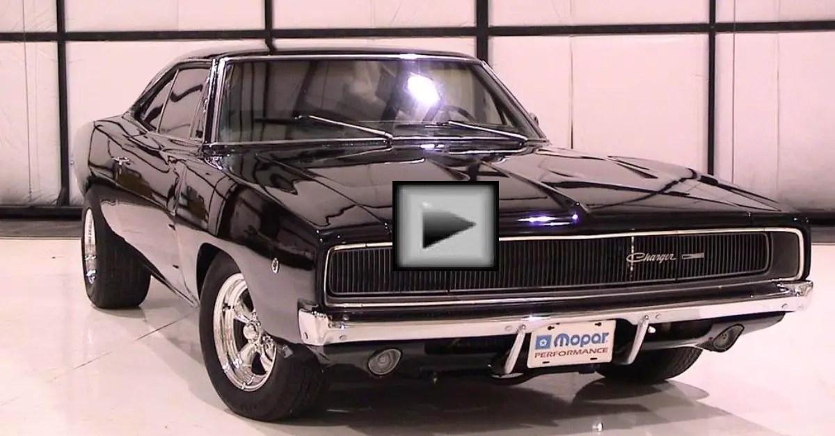 Dodge Charger mopar muscle car