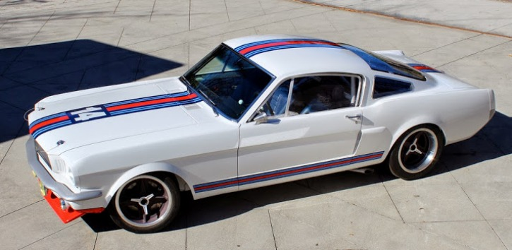 ford mustang fastback martini by pure vision