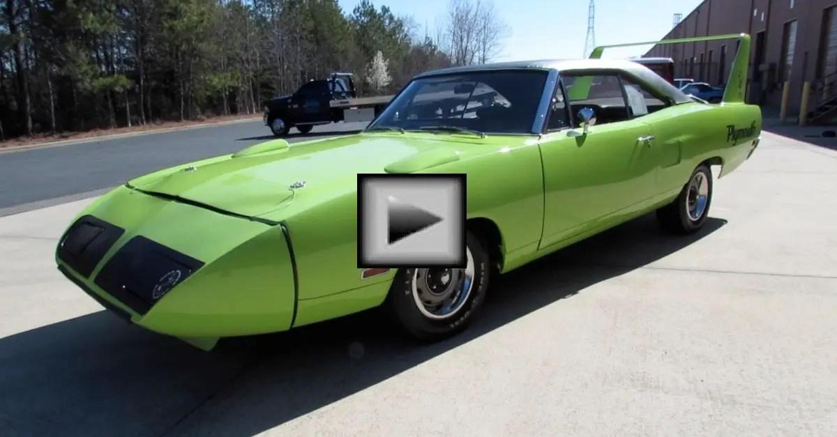 plymouth road runner superbird mopar muscle car