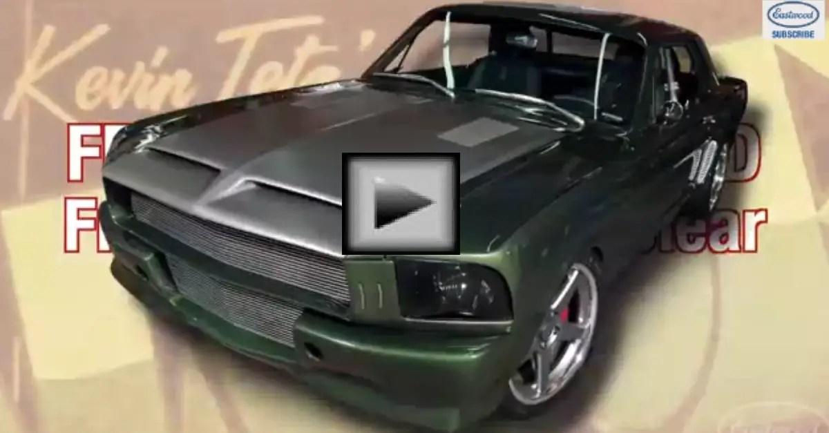 1966 Mustang JADED american muscle car
