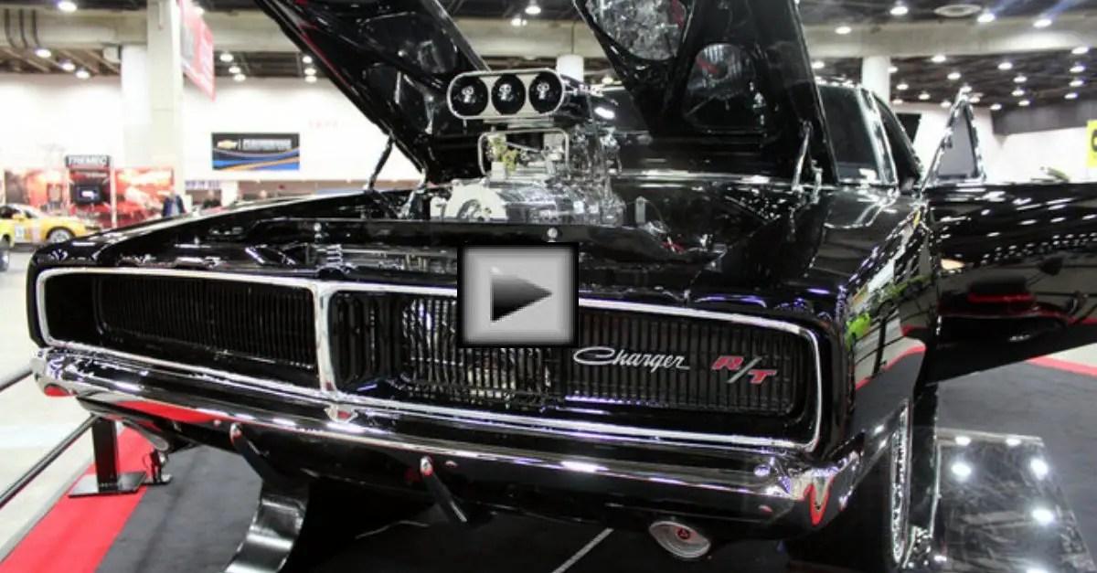 1969 dodge charger detroit autorama mopar muscle car