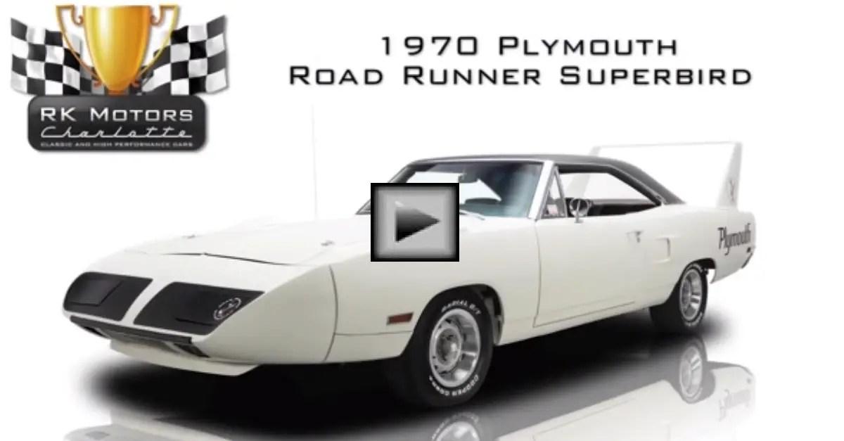 1970 Plymouth Road Runner Superbird mopar muscle car