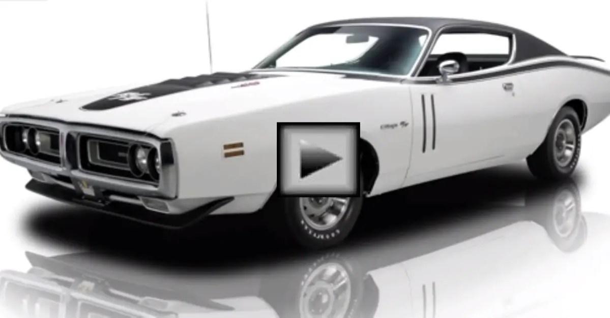 1971 Dodge Charger R T mopar muscle car