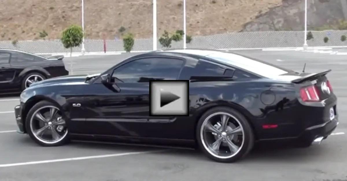 2011 Mustang GT Borla Exhaust american muscle car