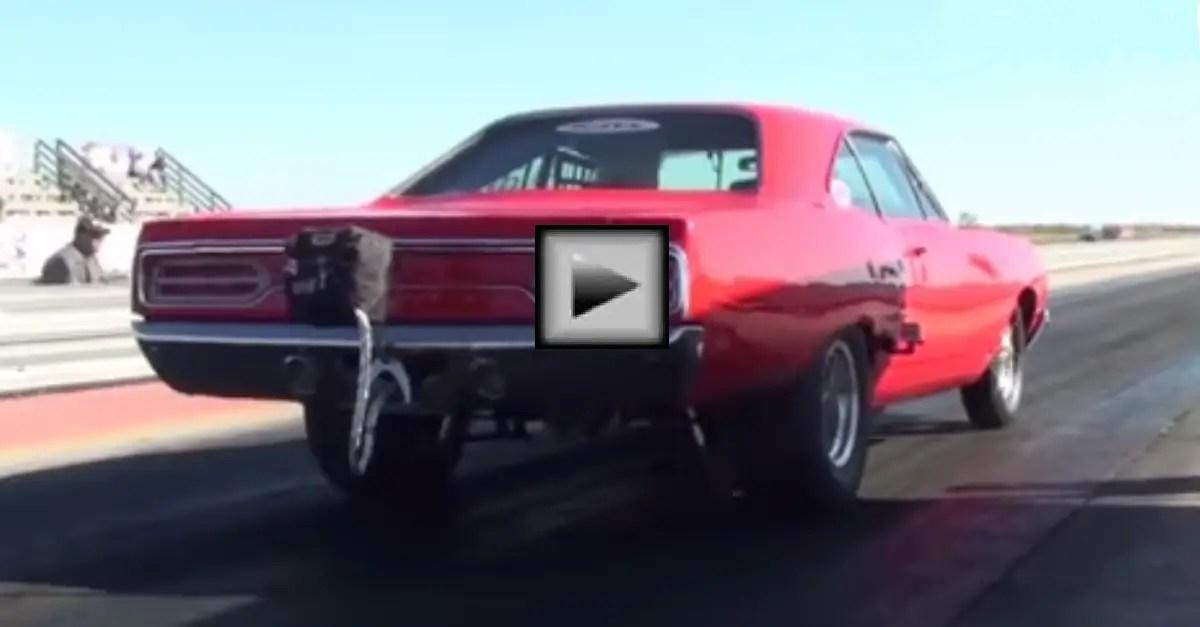Big Bad Plymouth satelite mopar muscle car
