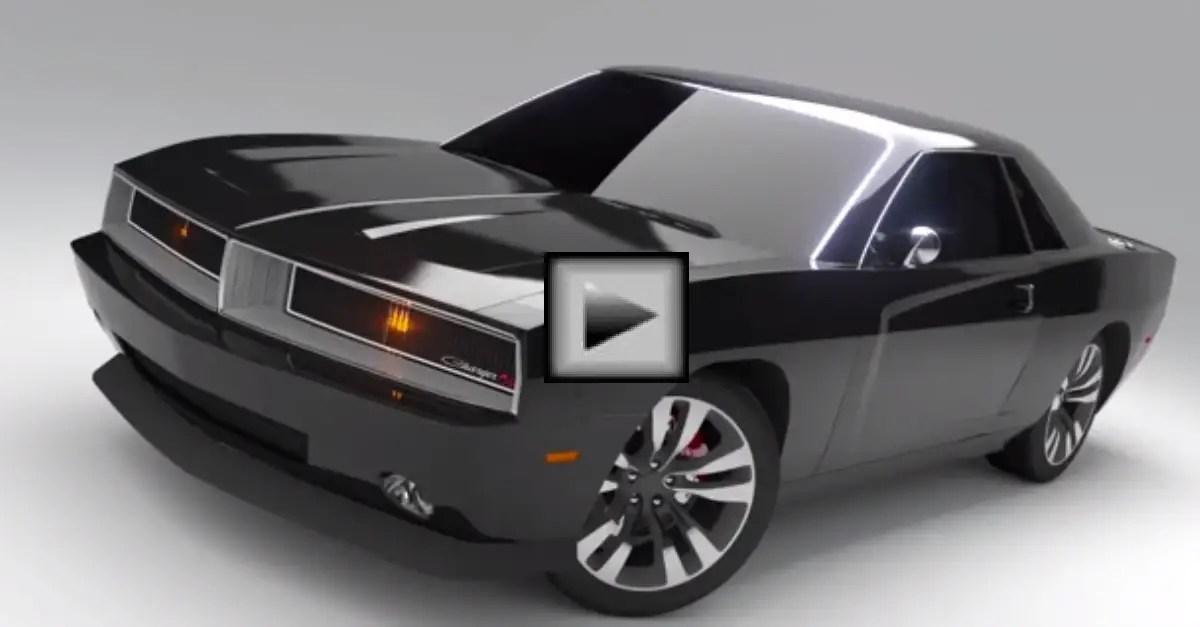 Concept Dodge Charger and Daytona mopar muscle car