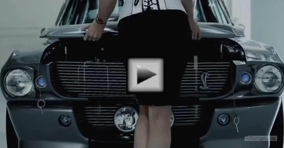 Shelby GT 500 Eleanor american muscle car