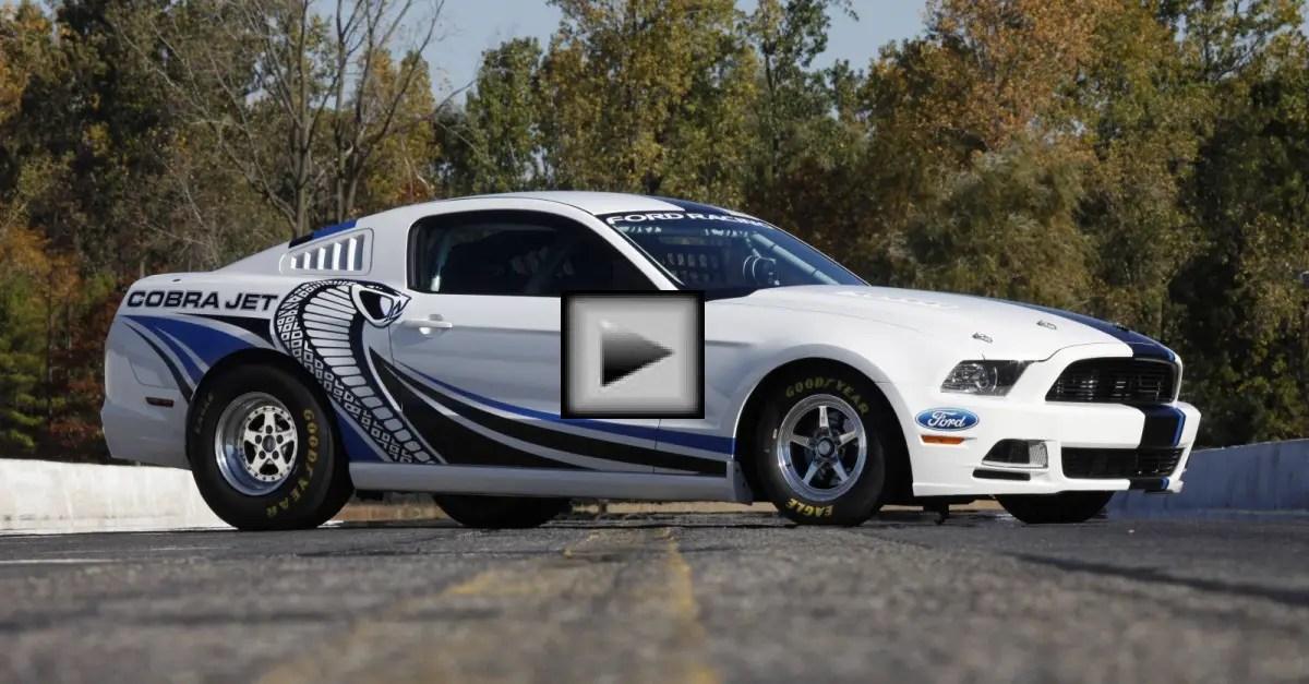 ford mustang cobra jet american muscle car