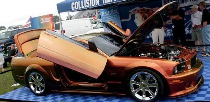 supercharged ford mustang gt maaco medusa custom built