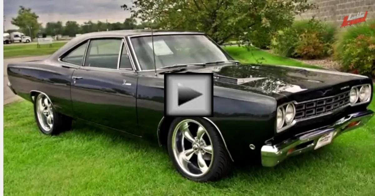 1968 Plymouth Road Runner 426 Hemi Mopar Muscle Car