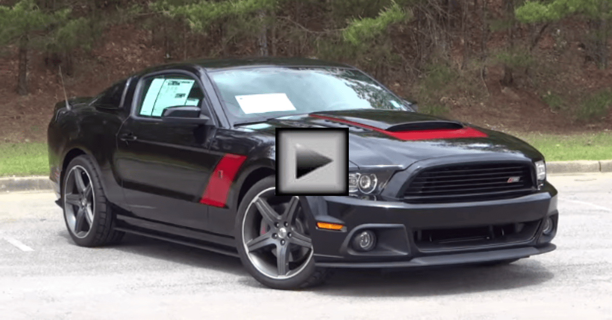 Driving the 2014 Roush ford Mustang