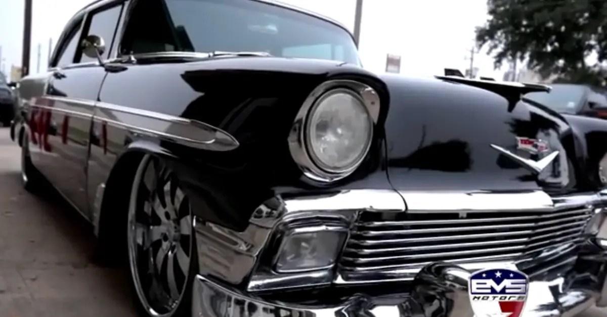 EVS Motors 1956 Chevrolet Bel Air Custom american classic