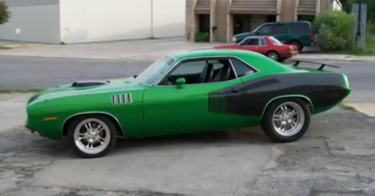 Muscle Rod Shop 71 Hemi Cuda mopar muscle car