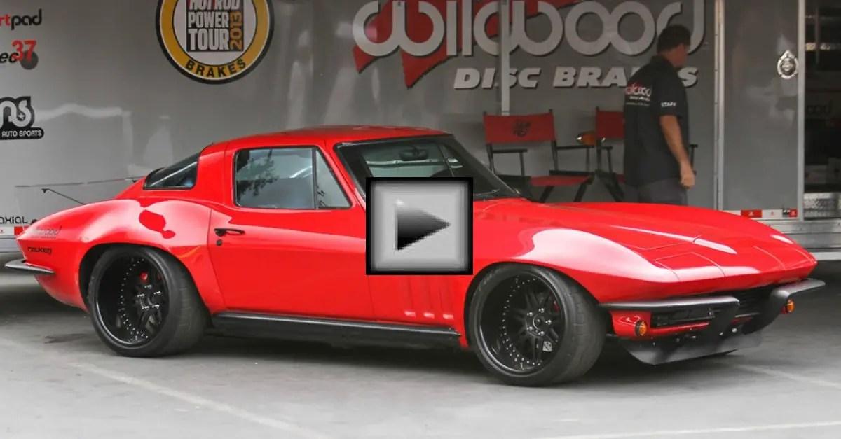 the original stingray corvette american car