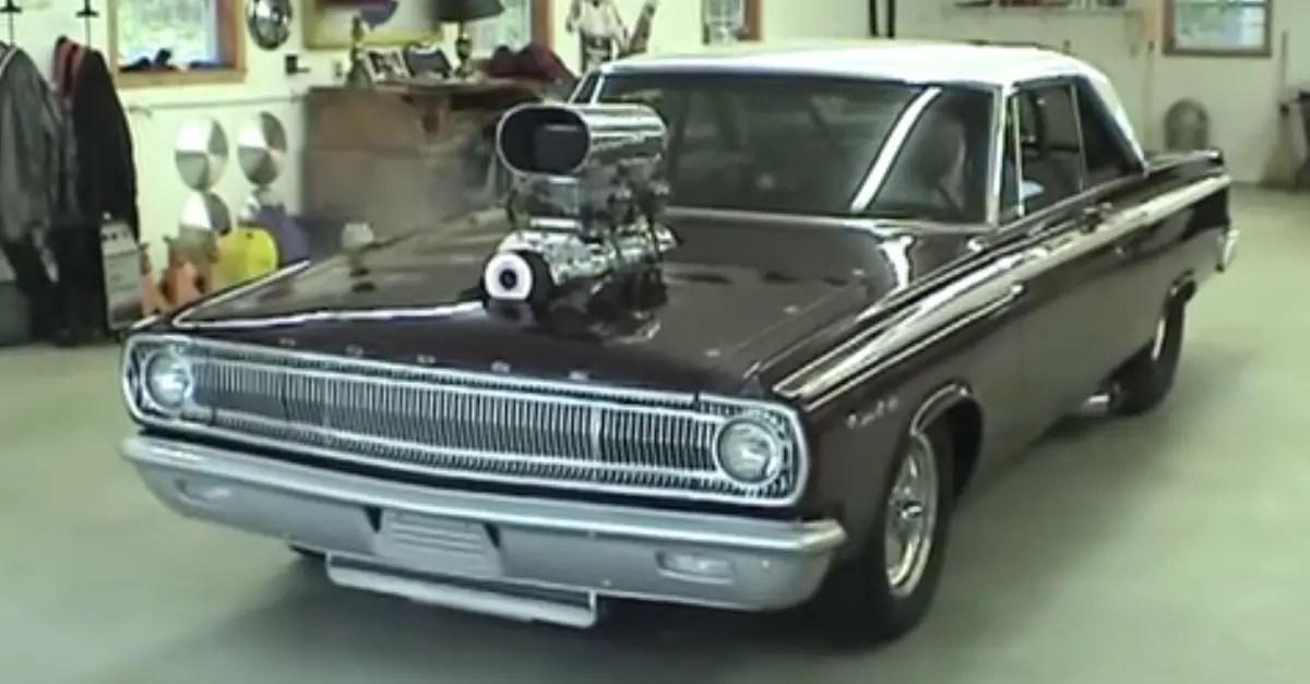 1965 Dodge Coronet Pro Street 1000 Horse Power mopar muscle car