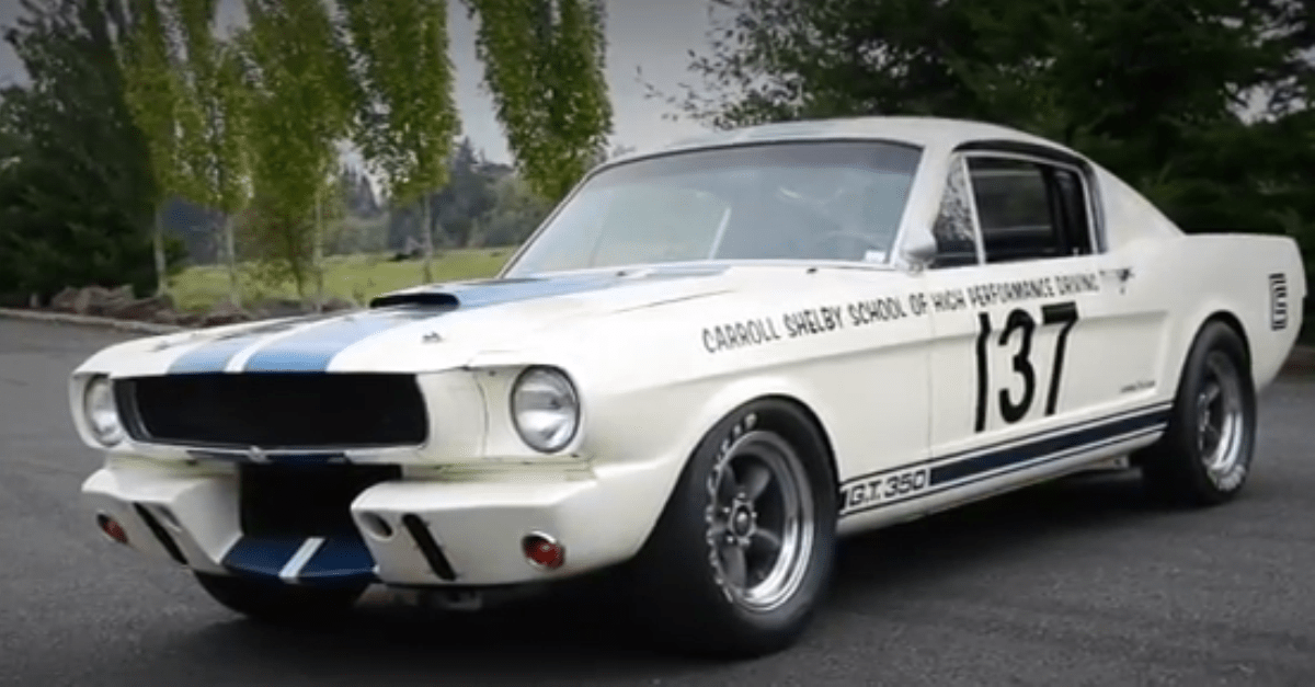 1965 Mustang Shelby G.T. 350 R American muscle car
